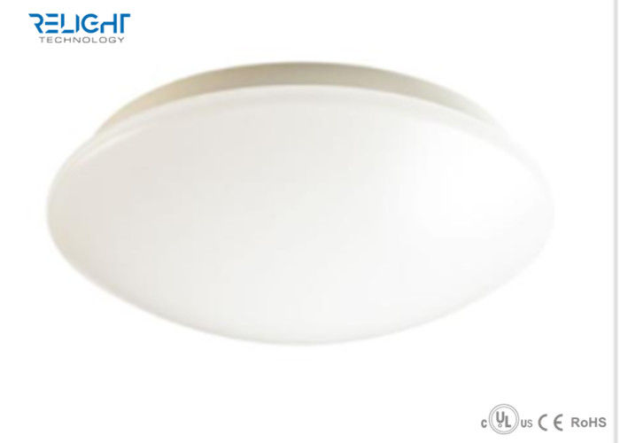 12W 18W 24W 30W Led Surface Mount Ceiling Lights , LED Oyster Light With Microwave Sensor