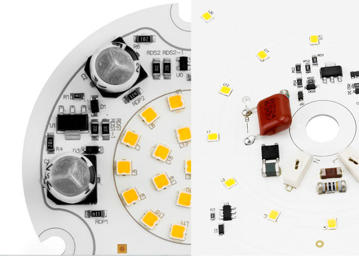 AC 120V Round Module Down Light and Ceiling ALUMINUM PCB material white color 70mm 9W 120 Beam-angle